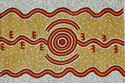 Long Jack Phillipus Tjakamarra - redrock gallery