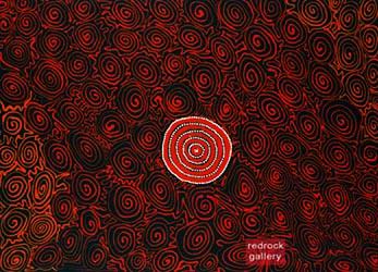Pansy Napangardi - redrock gallery